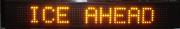 1 Line VMS Text Display BOARD