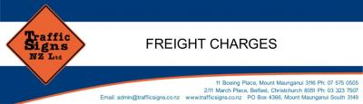 FREIGHT CHARGES